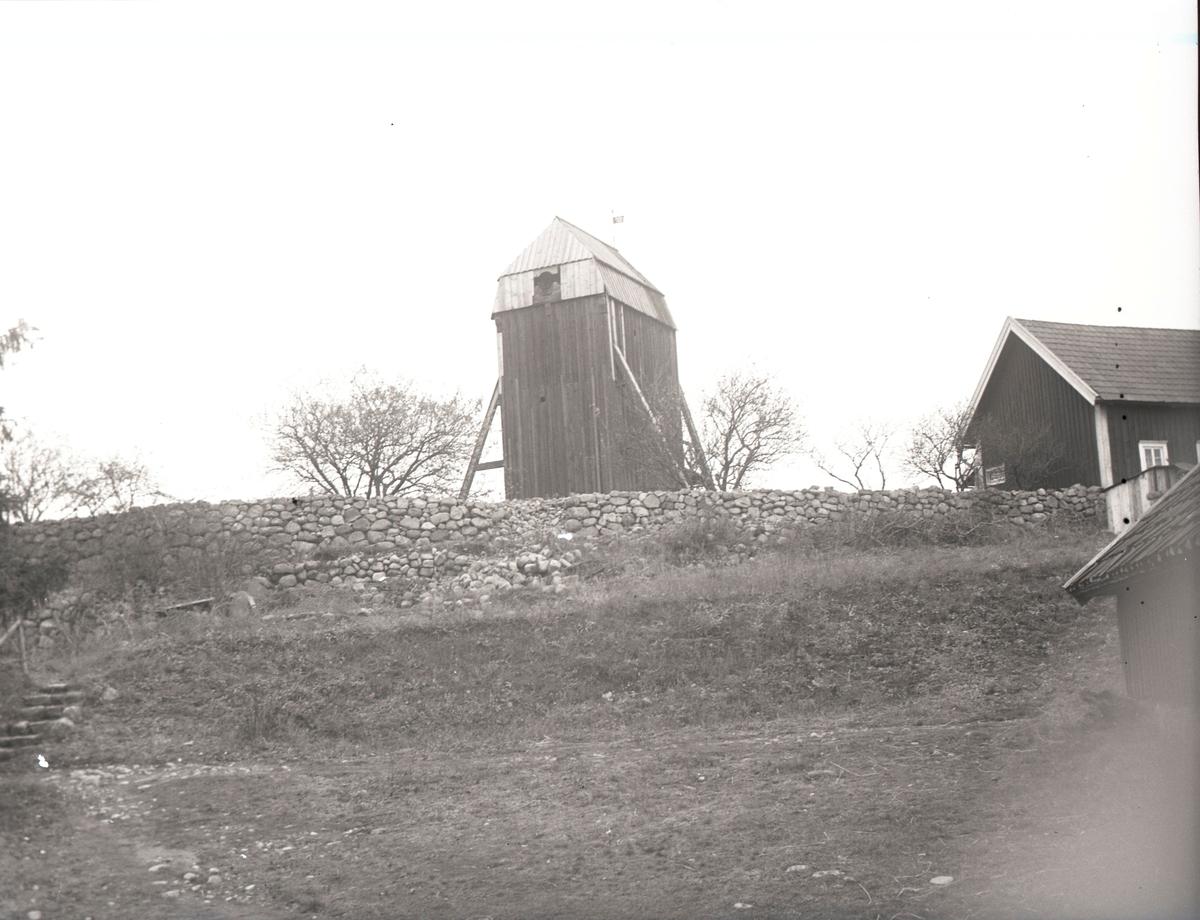 Ryssbyskans väderkvarn, byggd 1738.