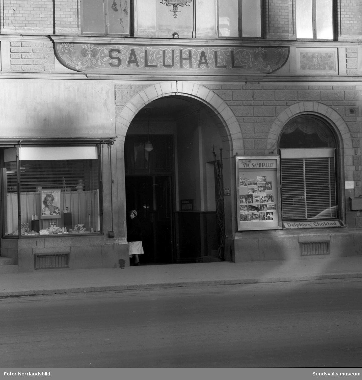 Gamla Saluhallen i kvarteret Hälsan.