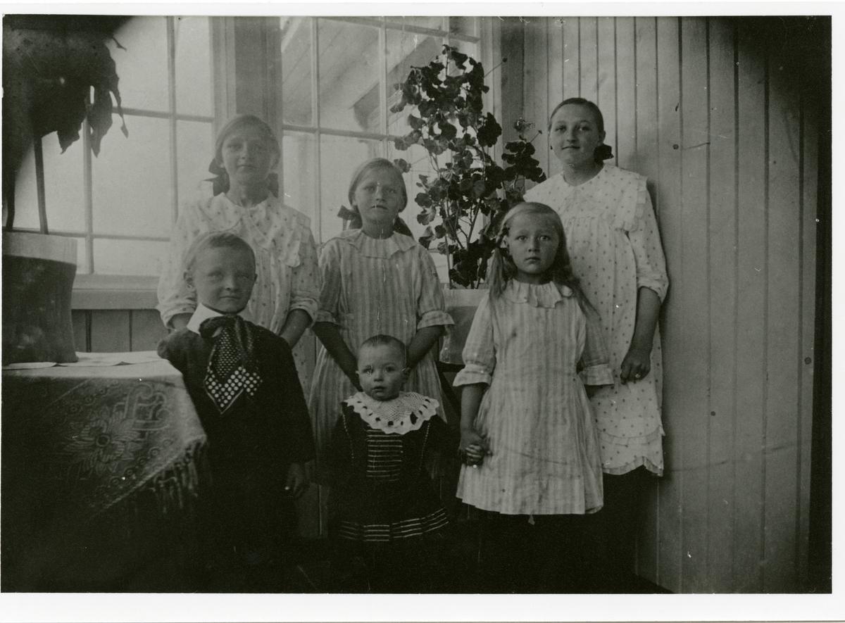 Barna til Arne og Anna Hoff fra Reinli.