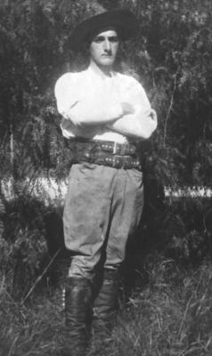 Einar Stang, gaucho i Argentina