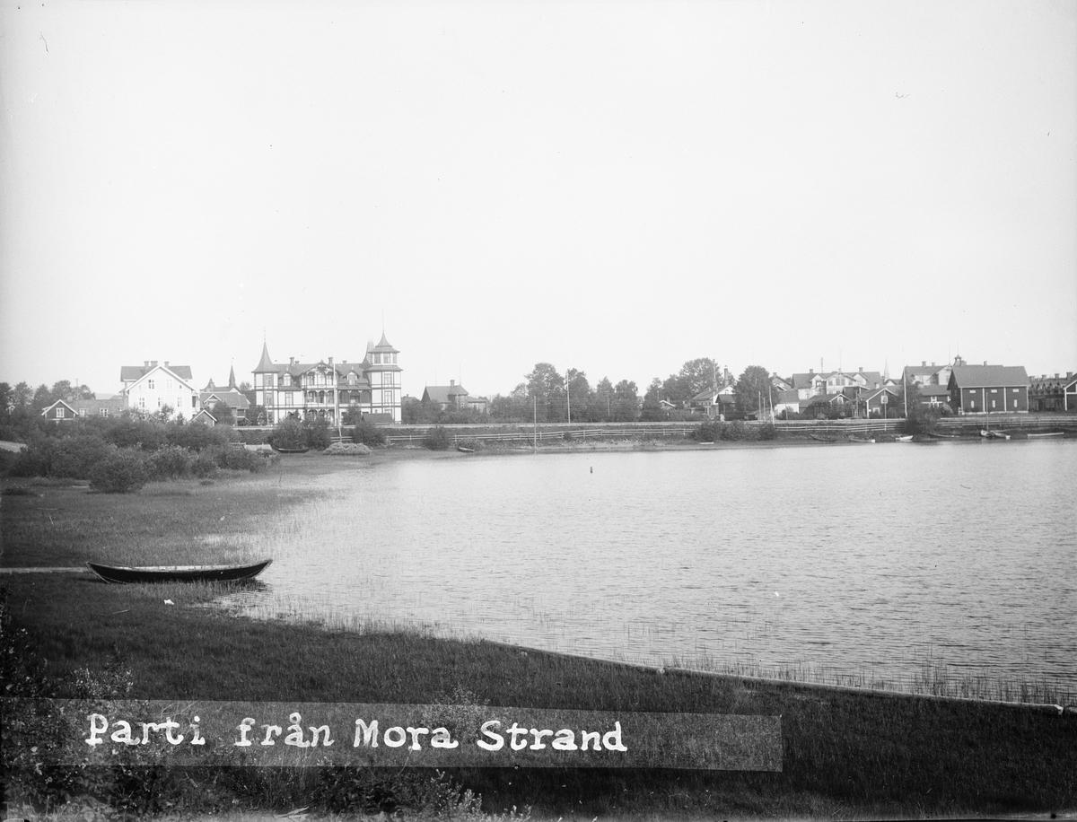 """""""Villor vid Mora Strand"""", Stenudden vid Siljan, Dalarna 1919"""