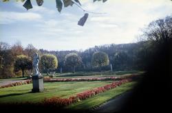 Gunnebo slotts trädgård. Mölndal, 1960-1970-tal.  För mer
