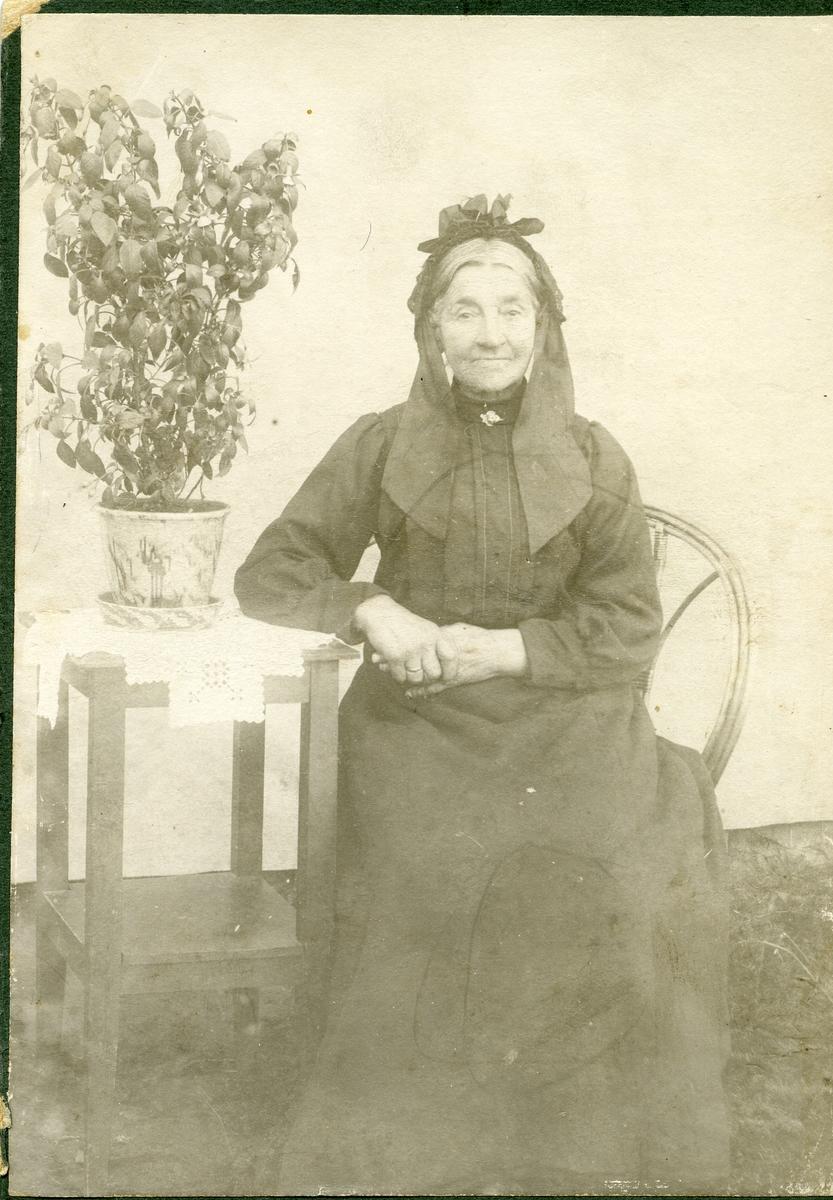 Portrett av Tøren Kløvrud.
