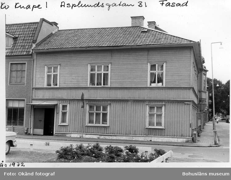 Asplundsgatan 31, Uddevalla 1972