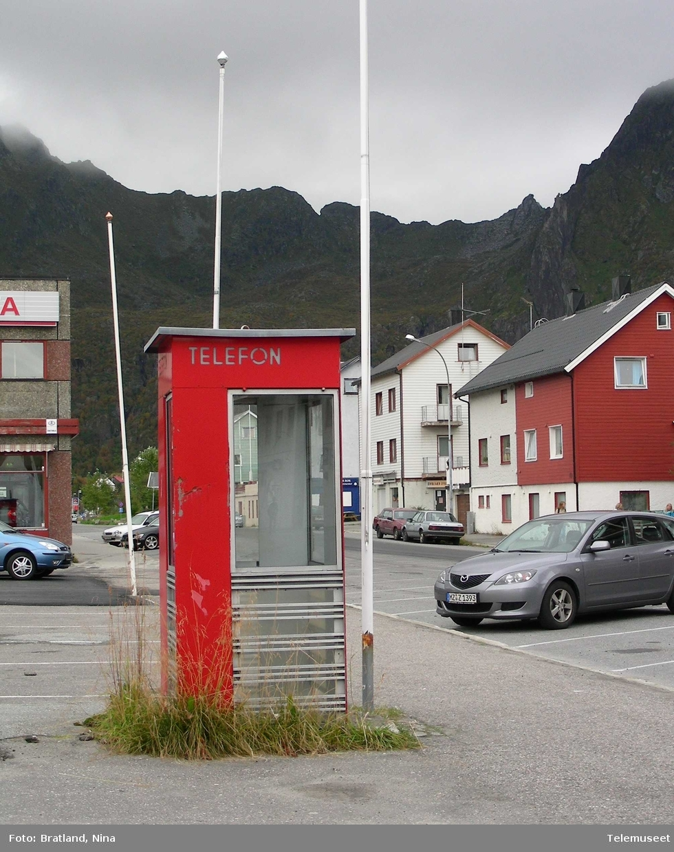 Telefonkiosk Svolvær Lofoten