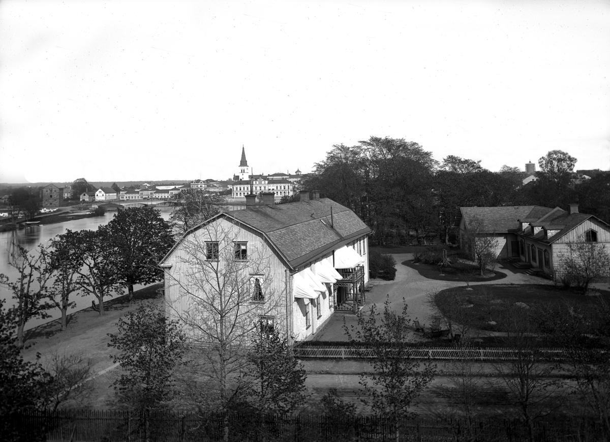 Grevegården vid Älvgatan år 1888.
