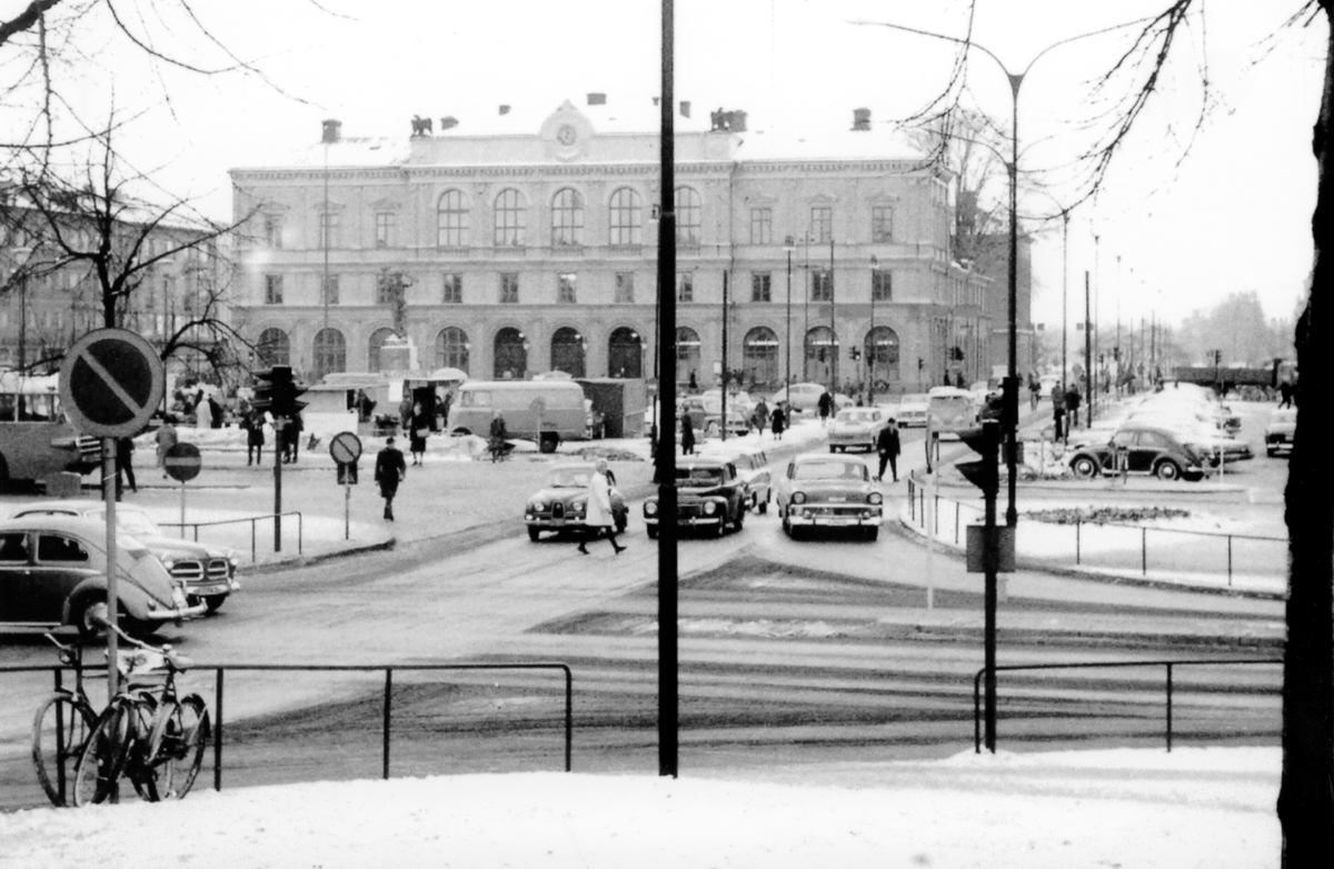 Karlstadsbild från 1960-talet.