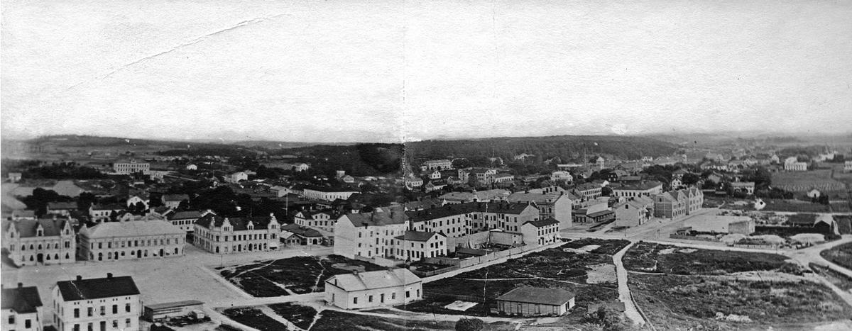 Utsikt från kyrkotornet