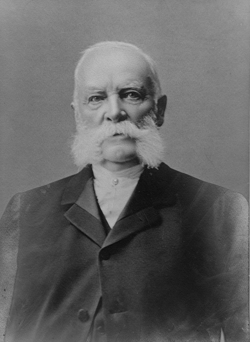 Ryttmästare HS Tham (f. 1827), 1900-talet.