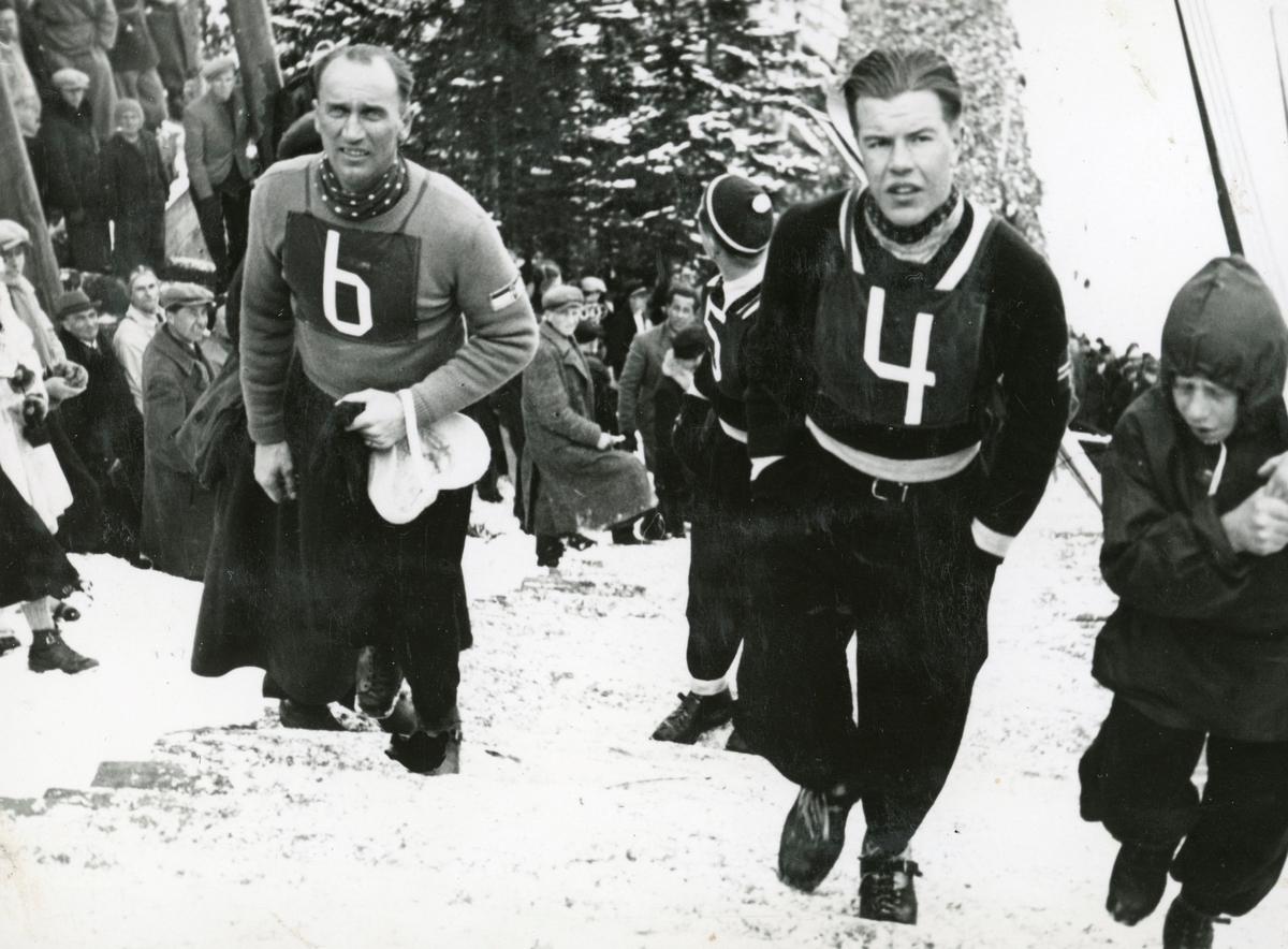 Athlete Asbjørn Ruud during competition
