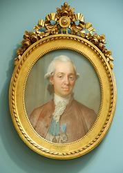Greve Fredrik Adolf Ulric Cronstedt [Pastell]