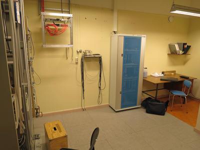 Telefonsentraler. Litlefjord interiør 2