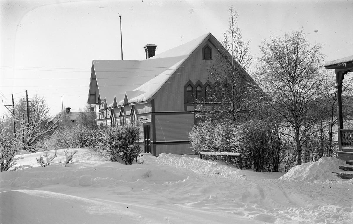 Hästbo Missionshus som invigdes 1901