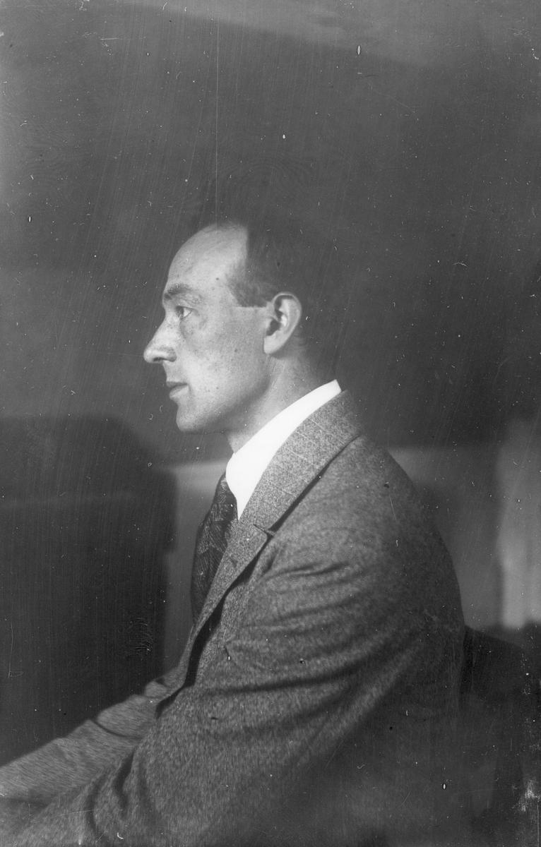 Porträttfoto, Erhard Nilsson.