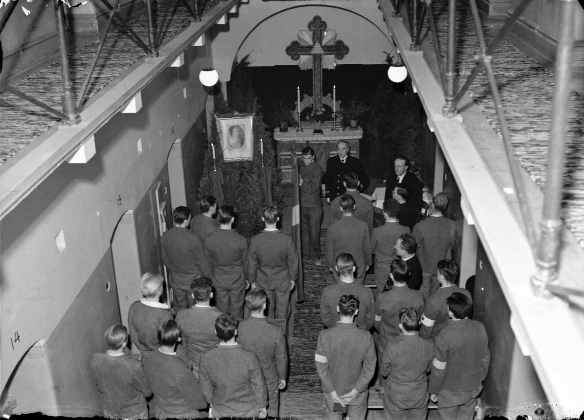 Gustav - Adolffesten på fängelset. Den 6 November 1941