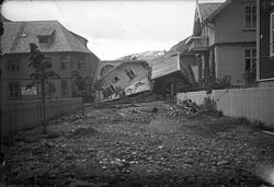 Ødeleggelsene etter raset i Skriugaten 1927