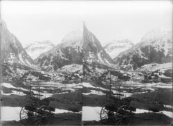 Myrdalsberget seet fra Flaamsdalen