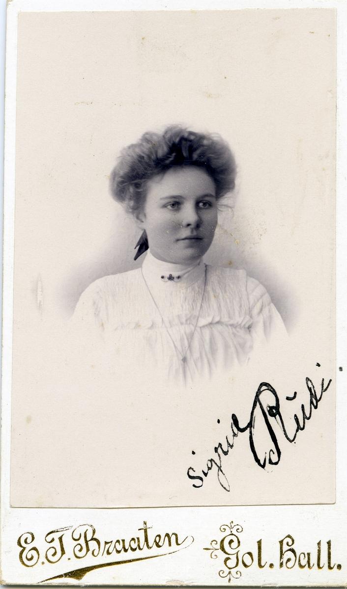 Sigrid Rudi.
