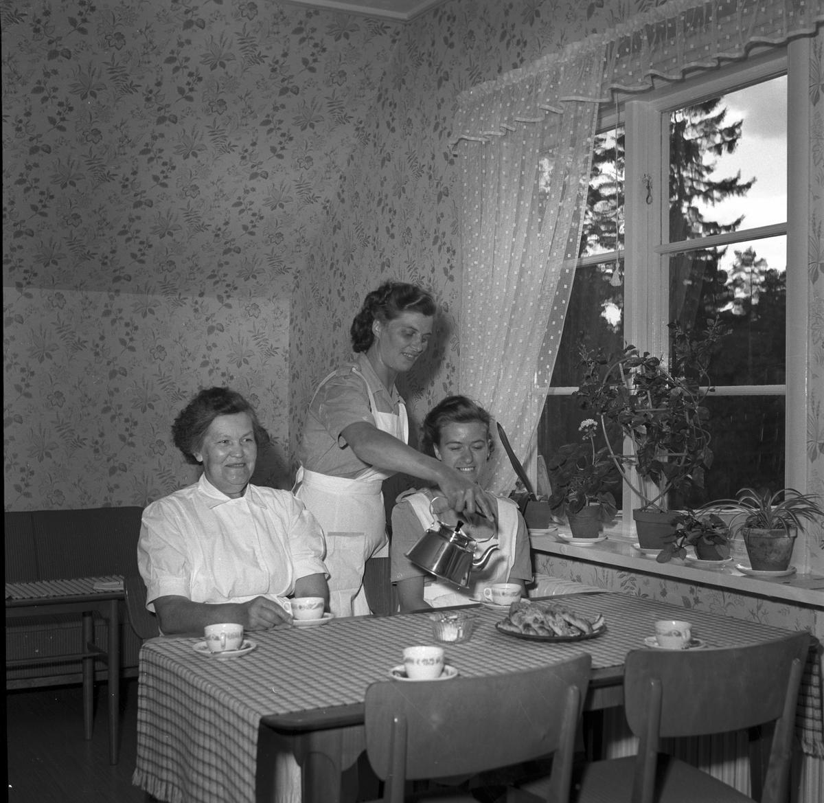 Älvkarleby nya kronikerhem, 10 juli 1953.