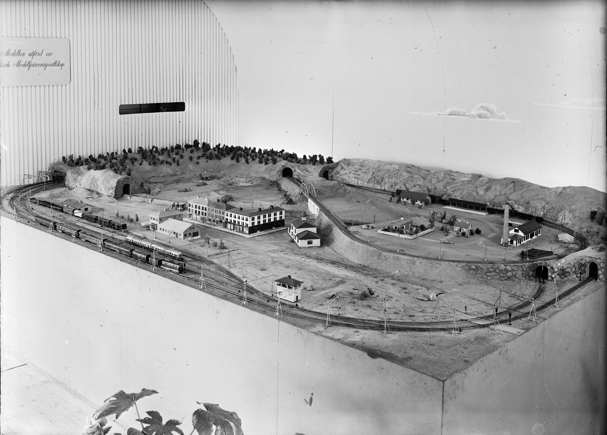 Gävleutställningen 1946. GDJ, Gävle Dala Järnväg