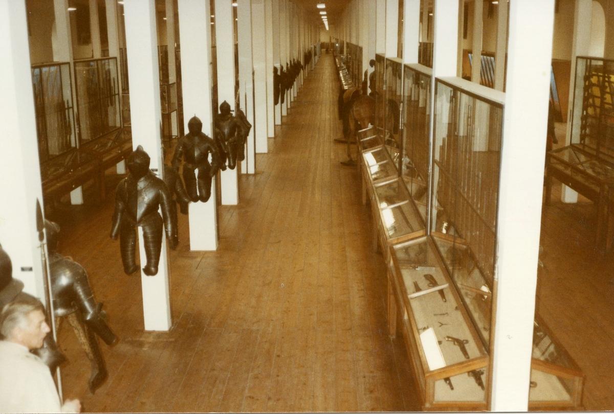 Studiebesök på Töjhusmuséet, Köpenhamn. Vapen.