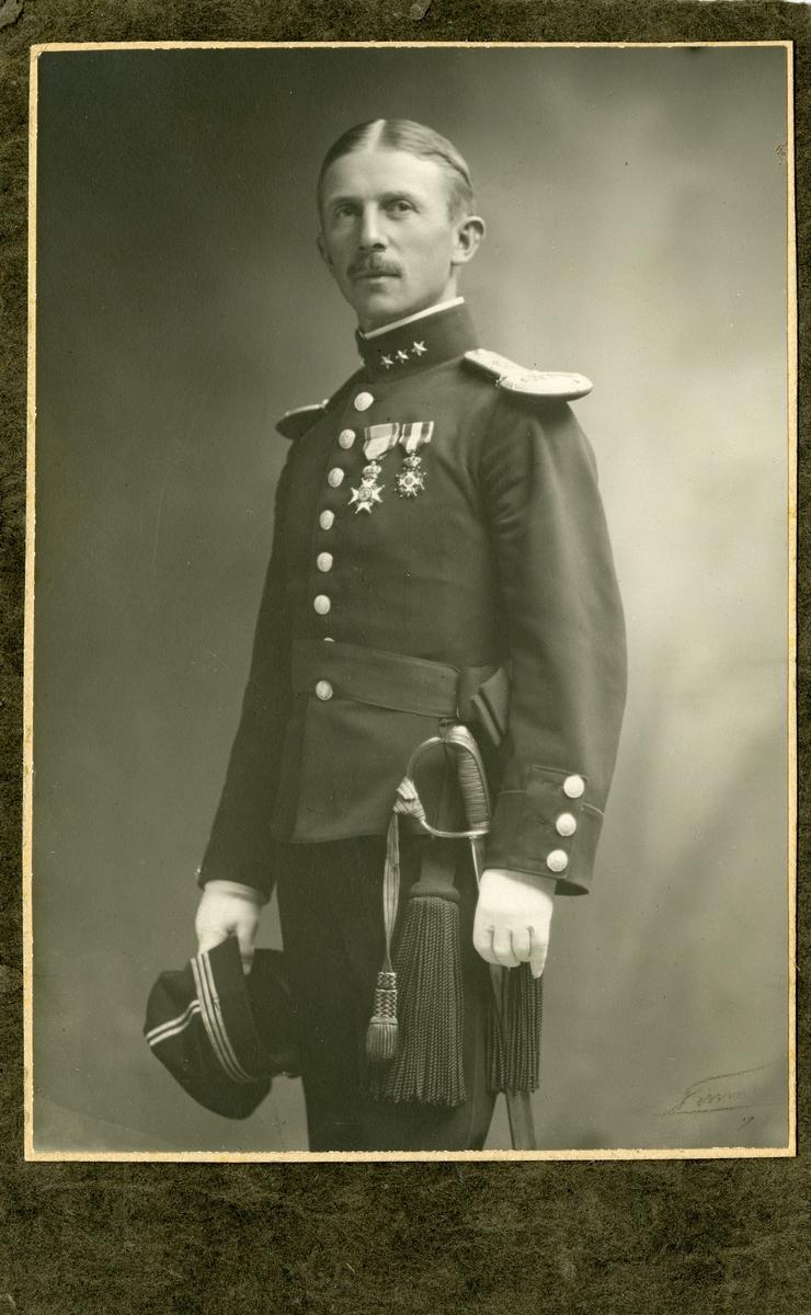 Kaptein Arve Staxrud.