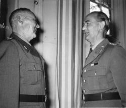 Modig, ke. Indelt soldat och furir, A 6. 75-års gratulation