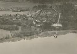 Flygfoto av Casimirsborgs gård.