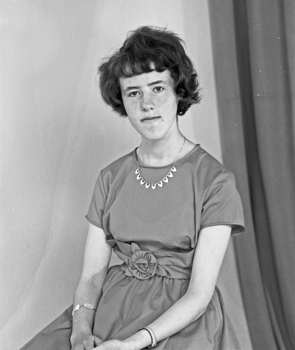 Portrett - ung kvinne - bestiller Solfrid Staveland