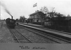 Valbo station före 1905,