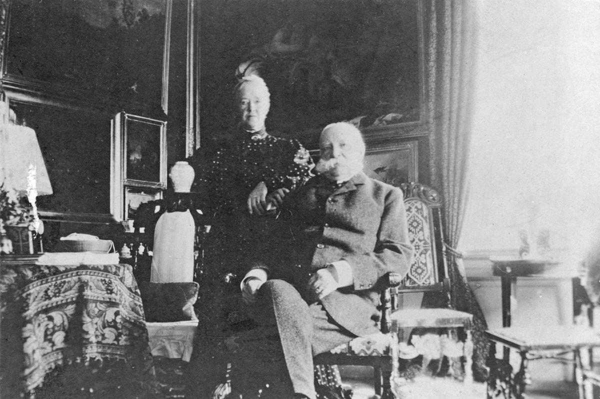 Sebastian och Elisabeth Tham, Stäholm.Kring sekelskifte 1800-1900