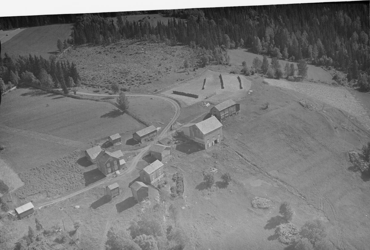 Hjelmstad gård, Tretten, Øyer, gårdsbruk, kulturlandskap, blandingsskog, slåttonn, hesjer