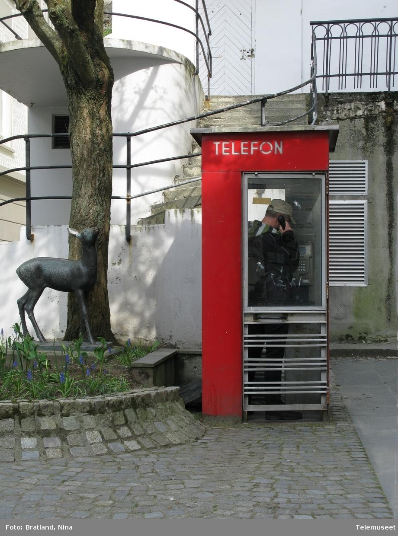 Telefonkiosk i Ålesund