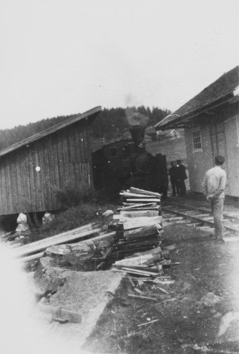 På bryggesporet på Skulerud