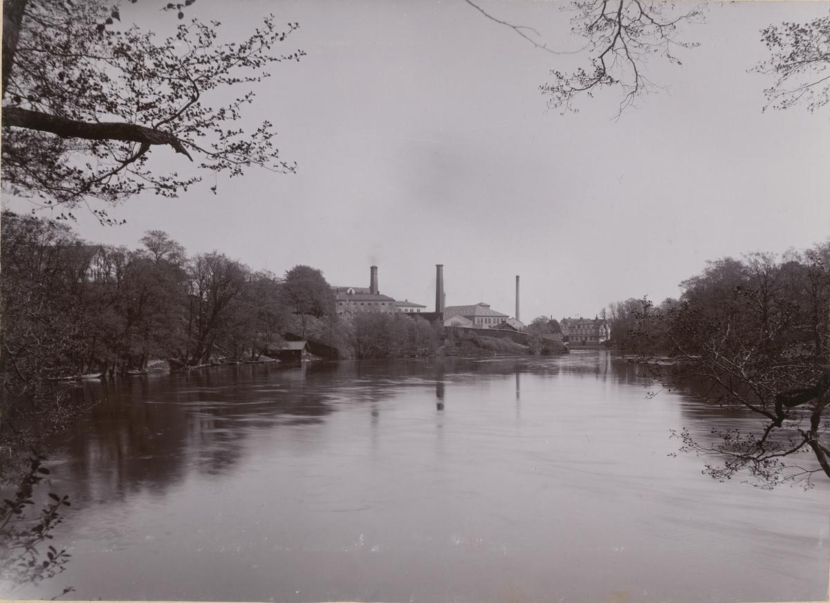 Stadsvy från Norrköping.