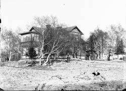 Markarbete vid byggnad, Östhammar, Uppland