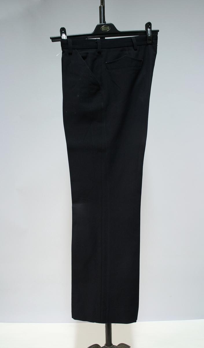 Uniformsbukse for elev ved Politiskolen.