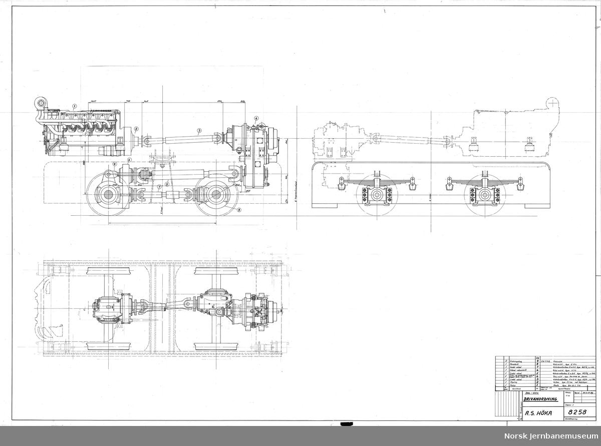 HØKA DHL-600 Drivanordning Prosjekt, ikke realisert