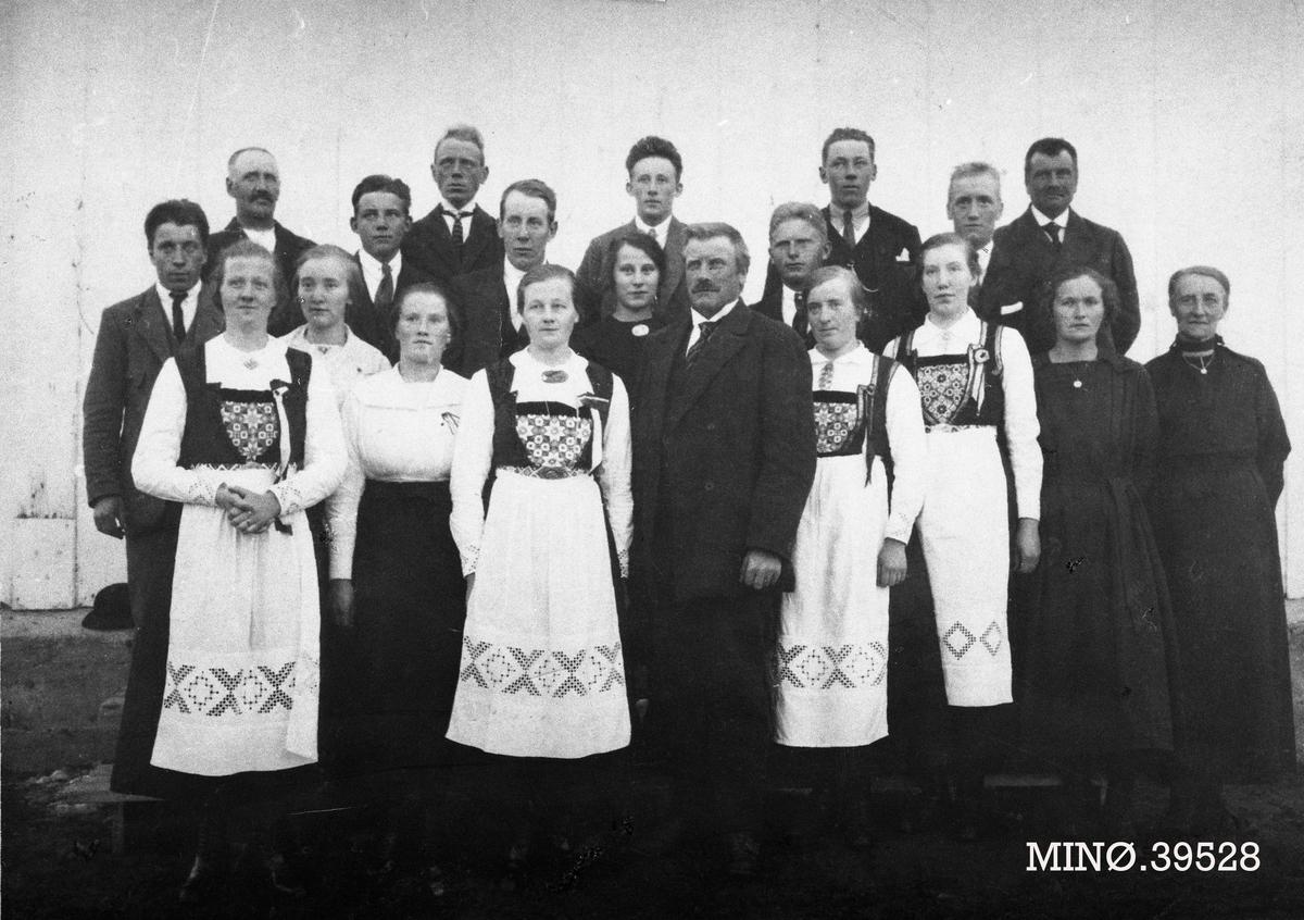 Narjord blandakor 17. mai ca. 1920-1924