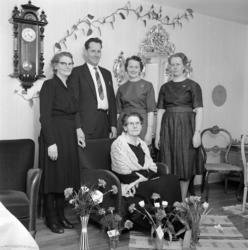 Fru Thelander, Kullagergatan 11, porträtt- och gruppbilder i