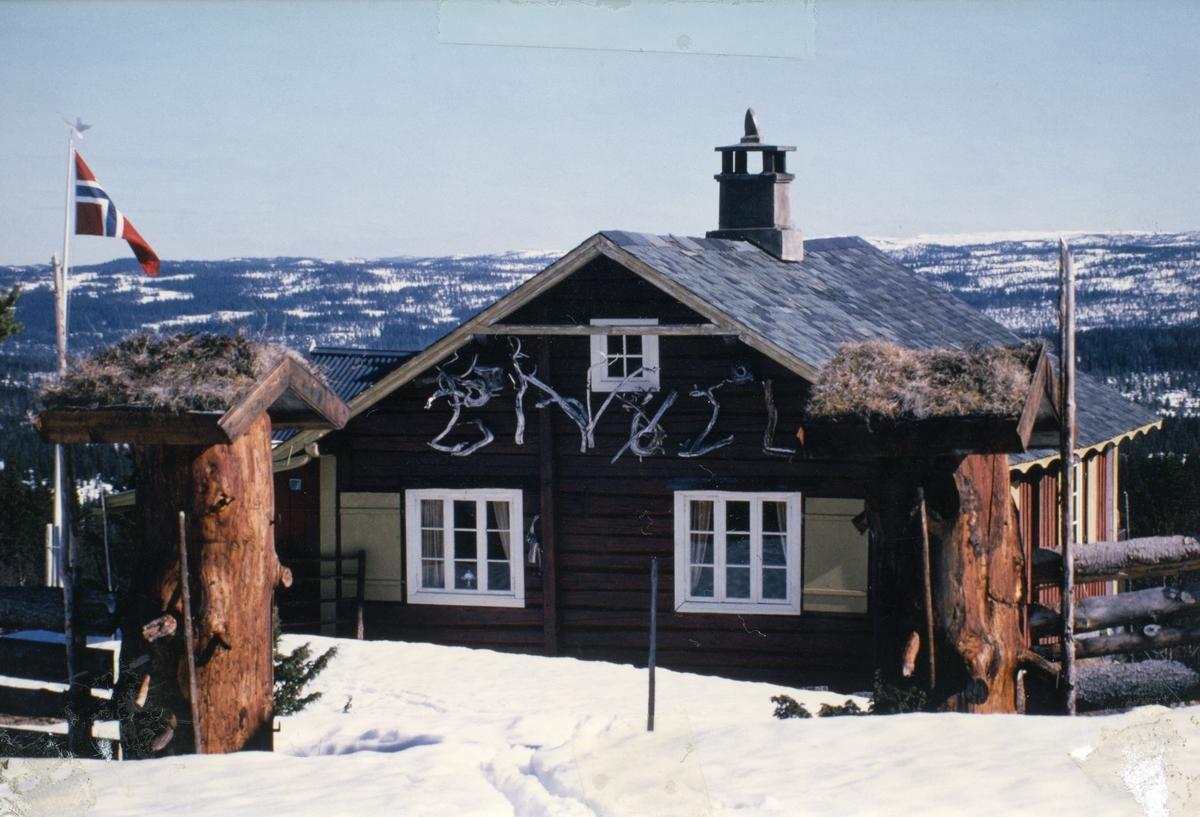 Ombygd seterbu, Høvreslia, Sør-Aurdal
