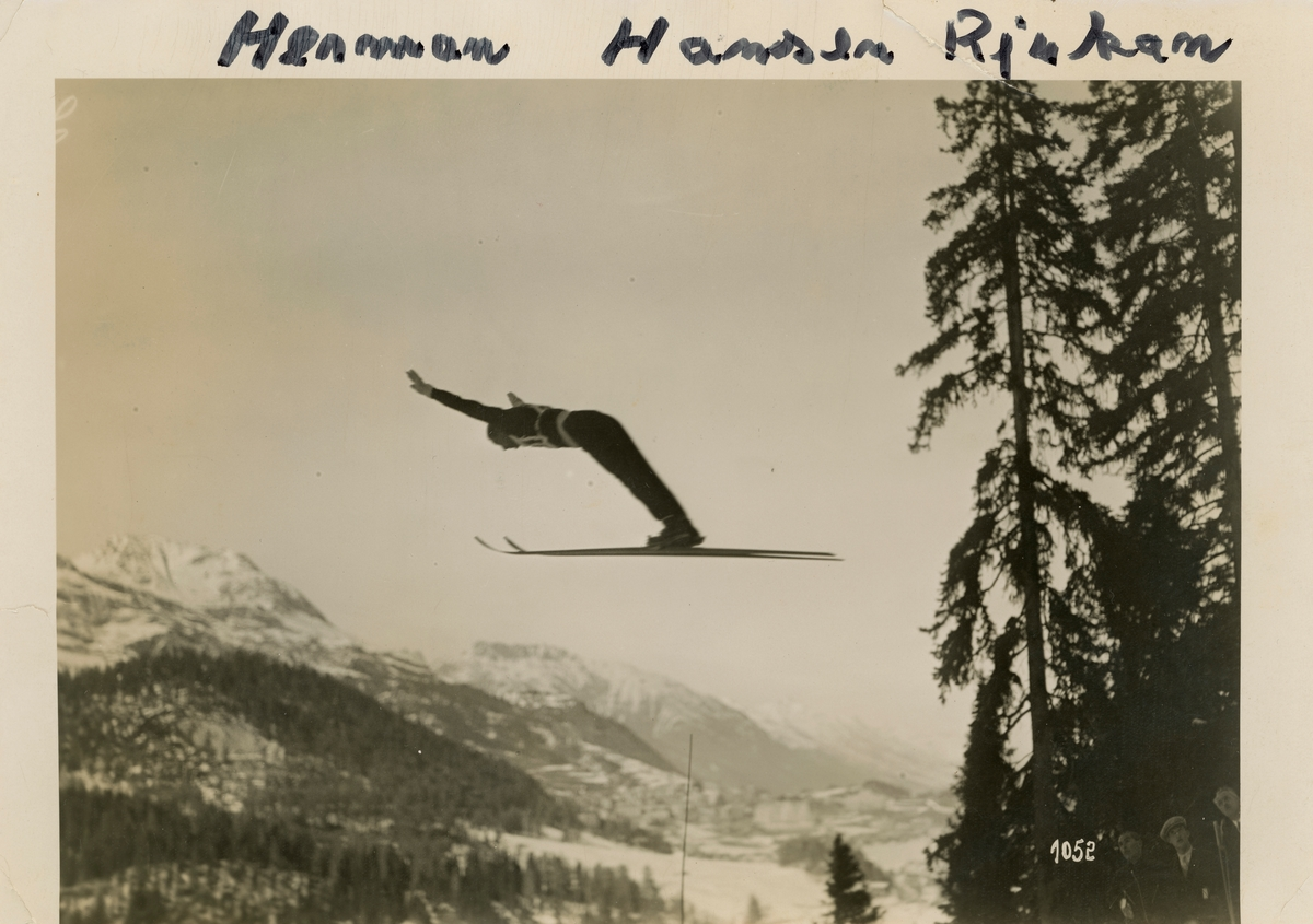 Athlete Herman Hansen from Rjukan