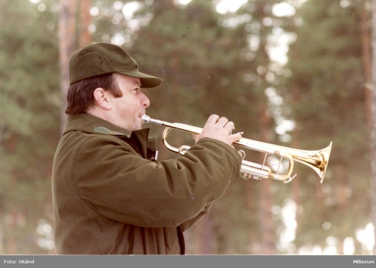 Fransson, Göran. Kapten, A 6. Skjutfältet, Skillingaryd.