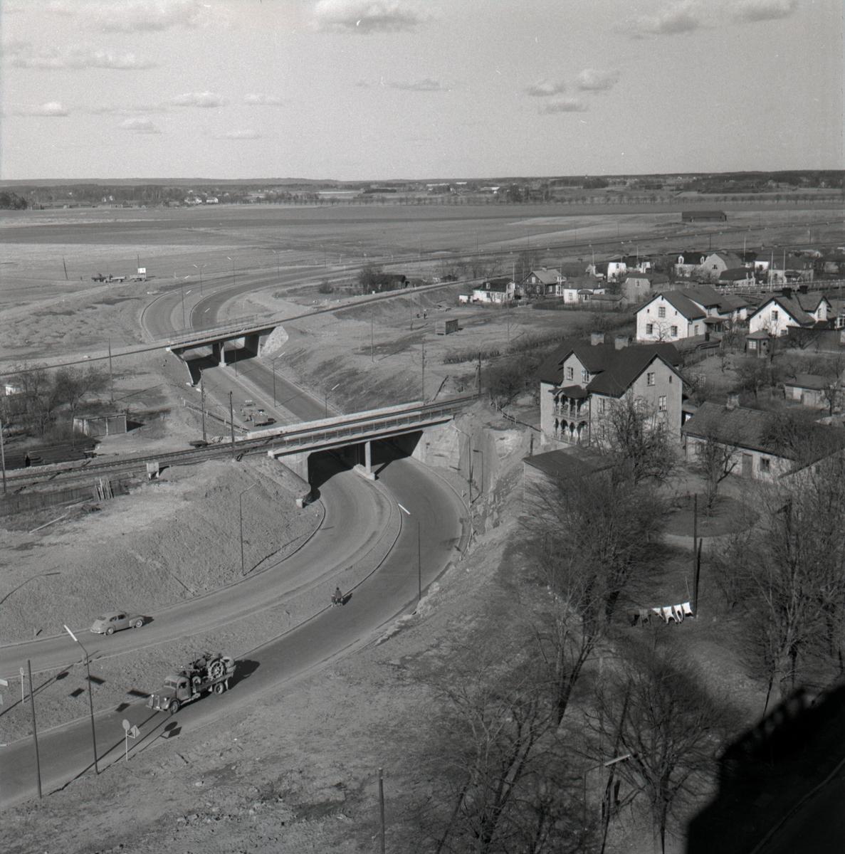 Orig. text: Ny bro vid Stångebro.