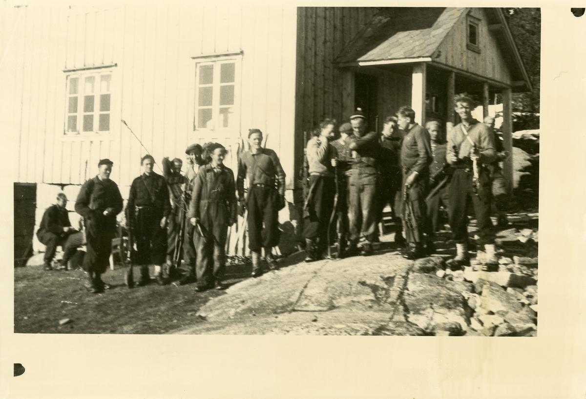 Heimefronten på kurs ved Nysetra, 1944.