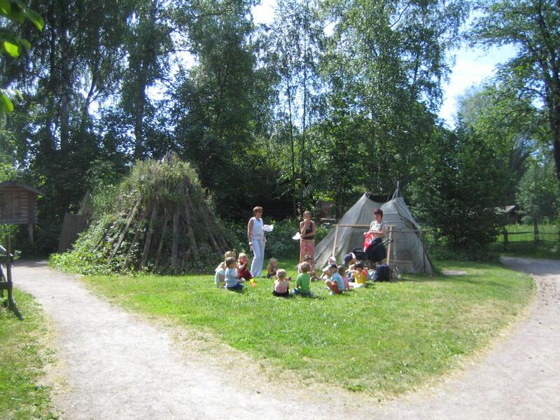 Sameplassen på Norsk Folkemuseum