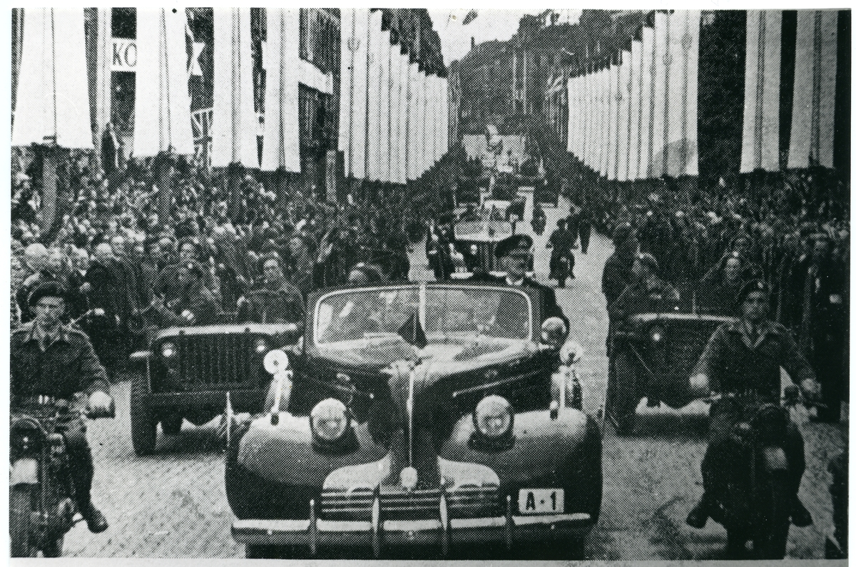 Heimkomsten til Håkon 7. den 7. juni 1945.