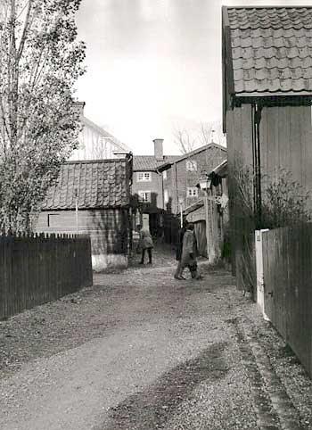 Pilens backe, flyttad till Gamla Linköping.