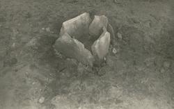 Branngrav fra eldre jernalder på Røsvik, Vigra.
