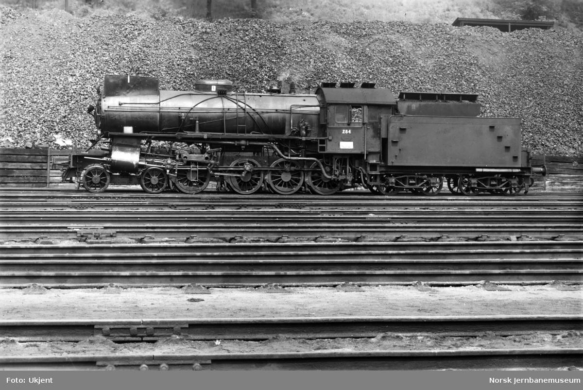 NSB damplokomotiv type 31a nr. 284